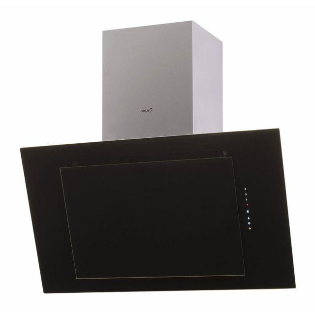 cata hotte d corative inclin e thalassa 900xgbk a 90cm noire achat hotte d corative. Black Bedroom Furniture Sets. Home Design Ideas