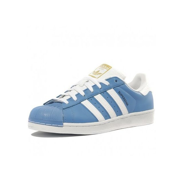 Adidas originals - Chaussures Superstar Bleu