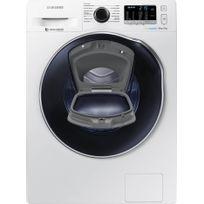 Samsung - Lave-linge séchant connecté - WD80K5410OW