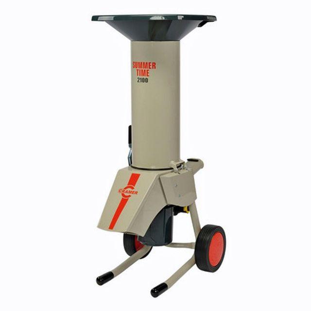 Cramer - Broyeur de végétaux électrique Summer 2100W - 230 kg/h - Capacité 40 mm