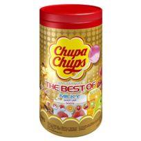 Chupa Chups - Tubo 150 Sucettes Assorties Fruits et Cola