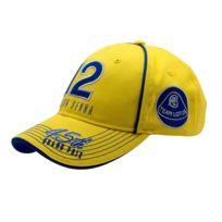 Ayrton Senna - Casquette Monaco Champion jaune