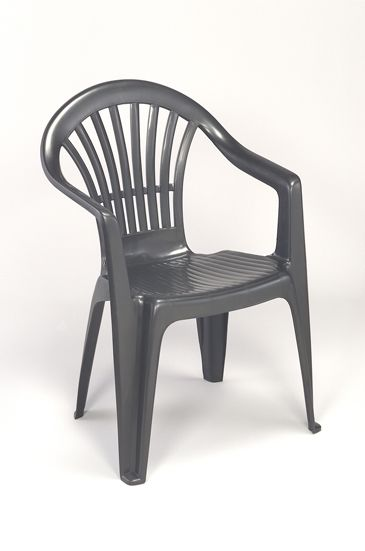 Lebrun Fauteuil 54 X 54 cm anthracite Tiny