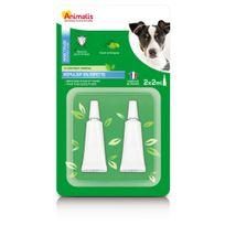 Animalis - Répulsif Insectifuge en Pipette pour Petit Chien - 2x2ml