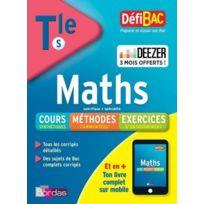 Bordas - Defibac ; mathématiques ; terminale S édition 2018