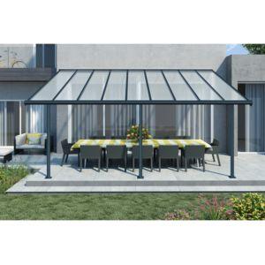 Chalet jardin toit terrasse elite 3x5 pas cher achat vente marquise auvent rueducommerce - Couvrir un toit terrasse ...