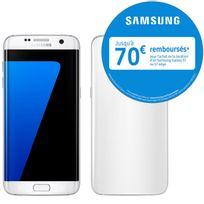 Samsung - Galaxy S7 Edge - Blanc