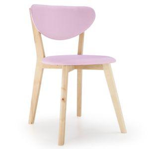 no name lot de 2 chaises style scandinave canada rose pas cher achat vente chaises. Black Bedroom Furniture Sets. Home Design Ideas