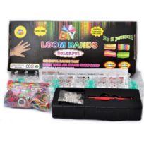 Marque Generique - Kit Métier à Tisser 600 Elastique Clips Rainbow Loom Band bracelet