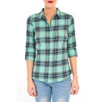 Vero moda - Mew Ls Shirt Tn Wall Vert