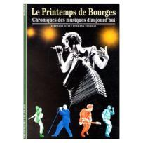 Gallimard - Librairie, Papeterie, Dvd. Le Printemps De Bourges - Decouvertes N°283 Historique Soldes
