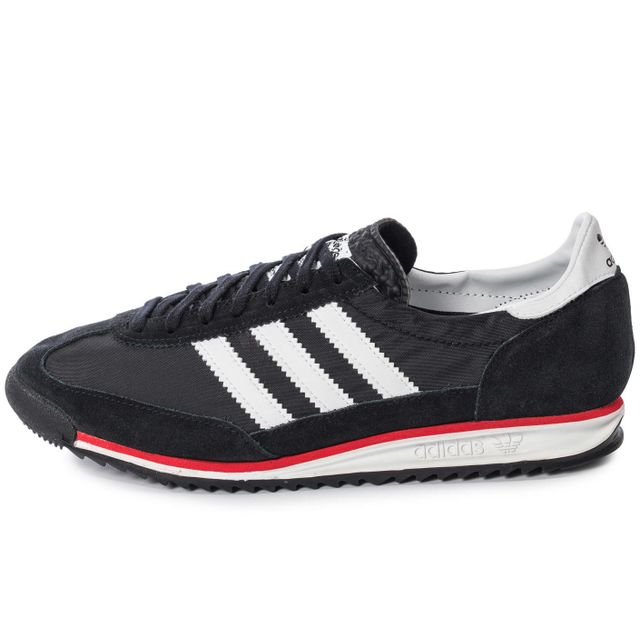 Adidas originals Sl 72 Vintage Run Noir Blanc Et Rouge