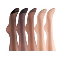 Elsa Boutique - Lot de 10 collants voile lycra 15 deniers