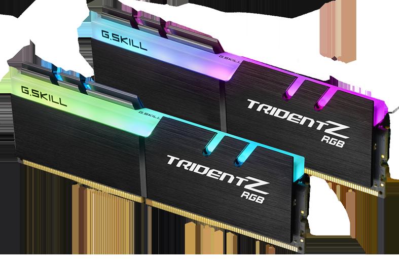 Kit de RAM Trident Z RGB 2 x 8 Go DDR4 3200 MHz G.Skill