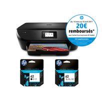 HP - Imprimante Envy 5545 + Cartouche Noire + Cartouche 3 couleurs