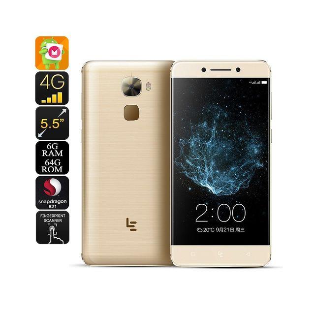 Auto-hightech Telephone Smartphone Android 4 Go de Ram, capteu rempreinte,photo appareil 16MP 4G, Android 6.0