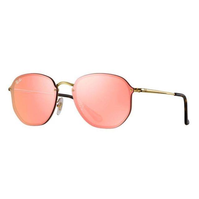 lunette de soleil femme verre miroir ray ban