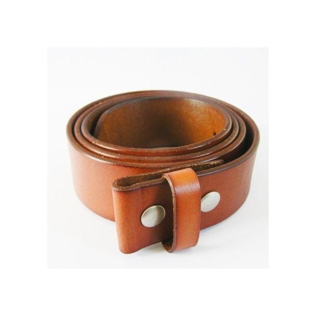 Universel - 2XL 135 cm ceinture en cuir véritable marron homme femme pleine  fleur 060fb360953