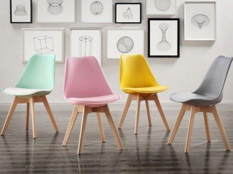 2 Lot GENERIQUE chaises MARQUE de JADDY Polypropylène H2WD9IE