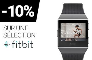 -10% sur une sélection FITBIT
