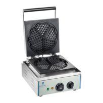 Autre - Gaufrier coeur professionnel Téflon rond puissance 1 x 1 500 watts 3614062