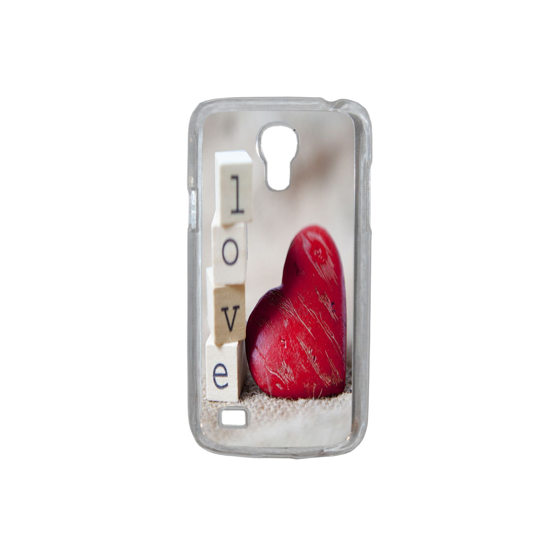 Lapinette - Coque Rigide Coeur Love Pour Samsung Galaxy S4 Mini