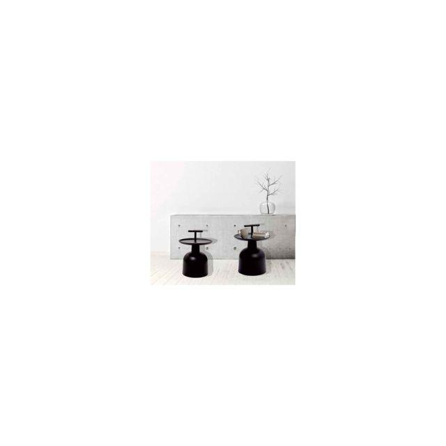 Chaise Privee Table Cloche Couleur: Noir