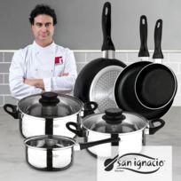 San Ignacio - Set : Set de trois casseroles + set de 5 pièces