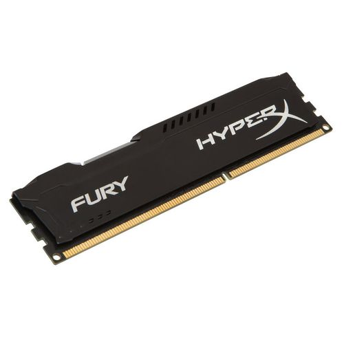 RAM DIMM Fury HX316C10FB/4 HyperX Noir