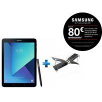 Samsung - Galaxy Tab S3 - 9,7'' - 32 Go - Noir + Mini drone Swing + Radiocommande Flypad - PF727003 - Noir et Blanc