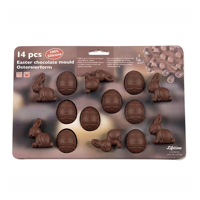 MAISON FUTEE Moule à chocolats de Pâques en silicone