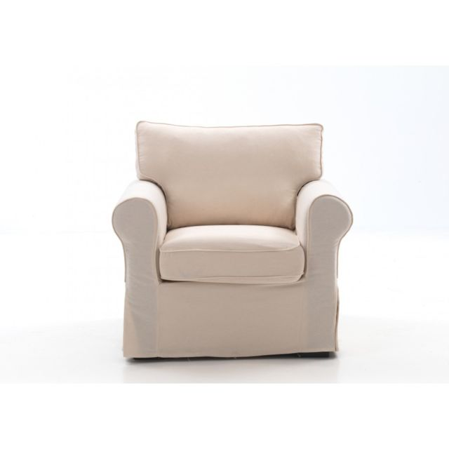 Rocambolesk Country fauteuil ecru