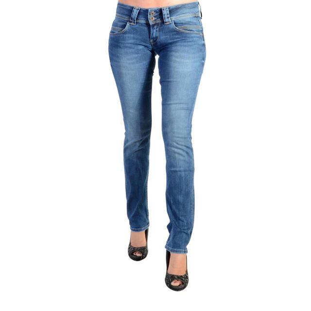 a99a26ccfee Pepe Jeans - Jeans Venus - pas cher Achat   Vente Jeans femme -  RueDuCommerce