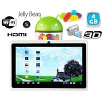 Yonis - Tablette tactile Android 4.1 Jelly Bean 7 pouces Hdmi 4 Go Blanc
