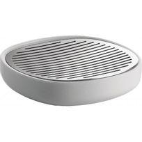 Declikdeco - Le Porte-Savon Alessi Carré L11 Blanc Saponi devient désormais votre meilleur ami dans votre salle de bain ou dans vos cabinets. Vous pourrez poser votre savon et apporter une touche tendance à votre lavabo. Caractéristiques :- Matière : Plastique et ac