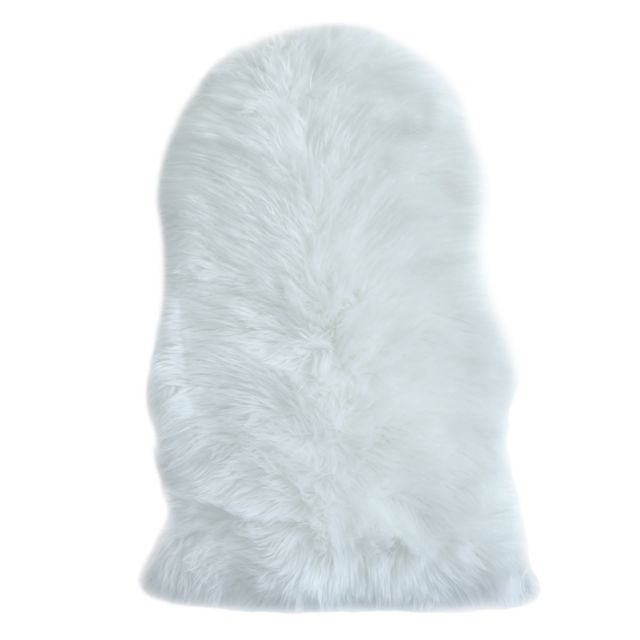 Koton Tapis Cocooning Blanc 55x80cm Pas Cher Achat Vente Tapis