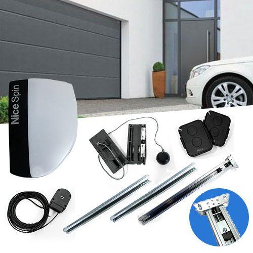 Nice motorisation porte de garage spinkit 10kce pas - Porte de garage nice ...