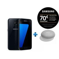 Samsung - Galaxy S7 - Noir + Enceinte intelligente - Google Home mini