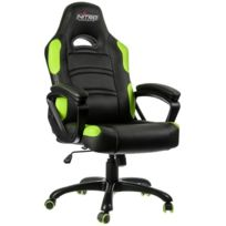 NITRO CONCEPTS - Fauteuil Gaming C80 Comfort - Noir/Vert
