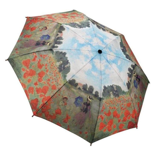 Parapluie monet champ de coquelicots