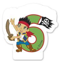 Procos - Bougie Jake Le Pirate© Chiffre 6 - Disney