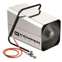 Kemper - Générateur d'air chaud à gaz 20 Kw Radiateur soufflant à gaz tuyau et détendeur