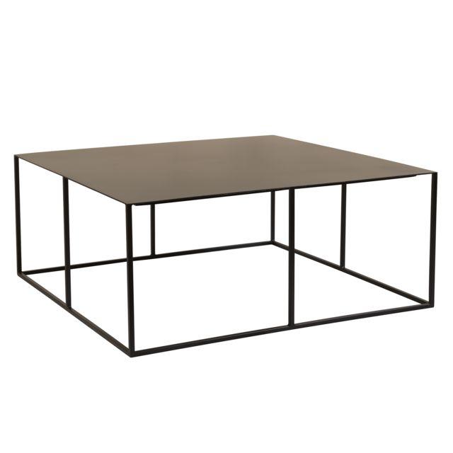 Rendez Vous Deco Table basse carrée Cola