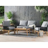 Salon jardin acacia - catalogue 2019 - [RueDuCommerce - Carrefour]