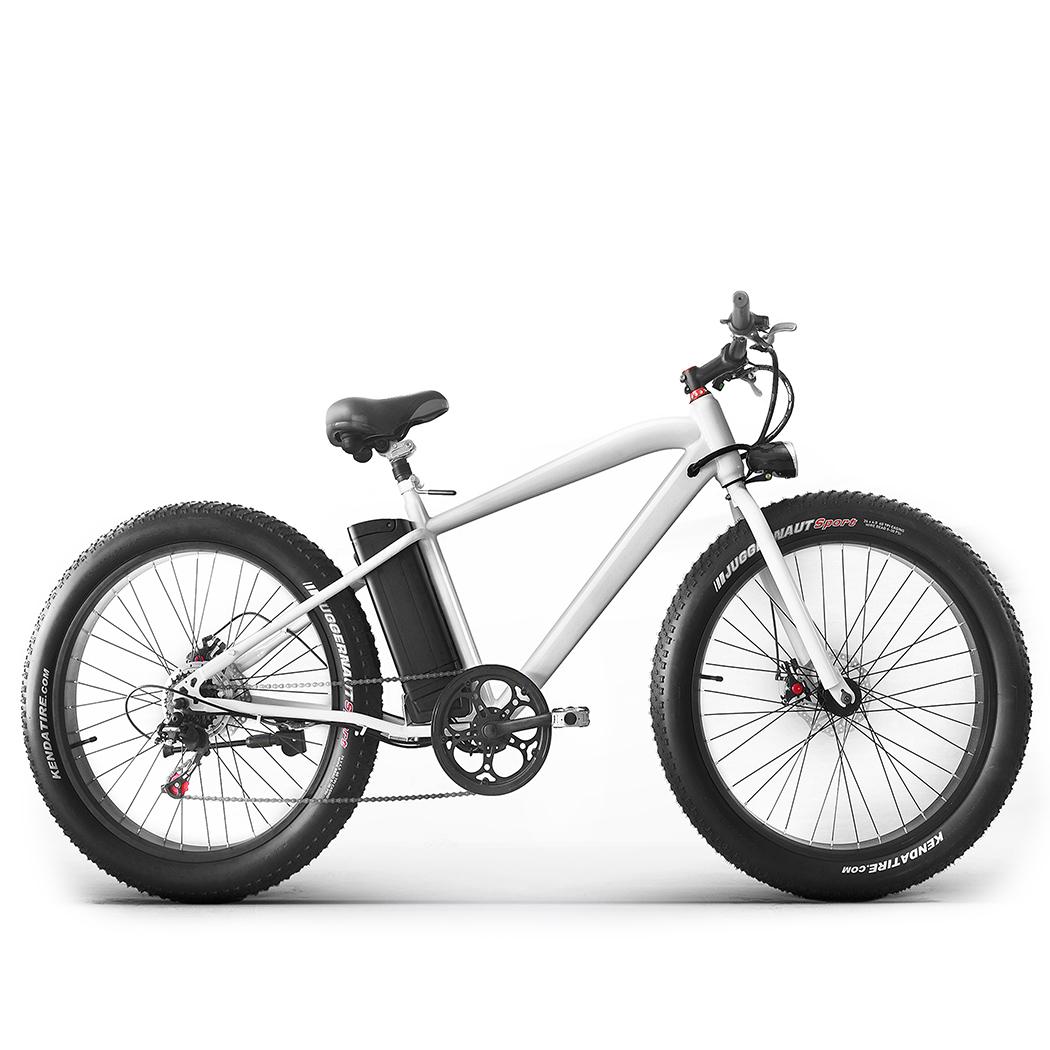Vélo Electrique Pliable Tout Chemin Pour Adulte - Blanc - REVTRO29