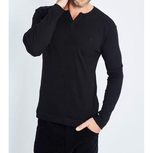 443b9a28c Georges Rech - T-shirt manches longues col rond - pas cher Achat ...