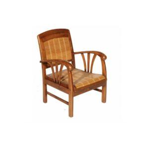 inside 75 fauteuil dak en bambou et teck style colonial marron pas cher achat vente. Black Bedroom Furniture Sets. Home Design Ideas