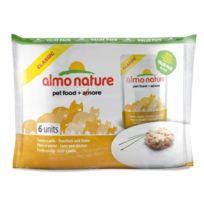 Almo Nature - Pochons Classic pour chat Thon et poulet