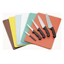Az boutique - Planche à découper verte 40 x 30 x 1cm en polyéthylène - Planche à découper