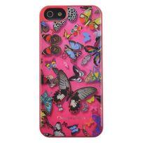 Christianlacroix - C-lacroix Coque motif papillon Iphone 6 - Rose